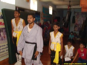 Wushu Kearala Kung-fu Training