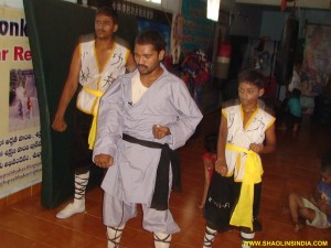 Shaolin Kung-fu Basics Training