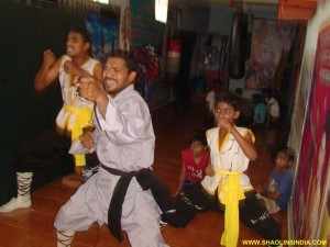 Shaolin Monk Training Program in Teach Shifu Prabhakar Reddy