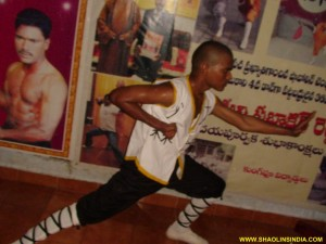 Shaolin Warrior Monk Movements Training