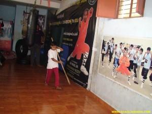 Shaolin Nan Gun Forms Training