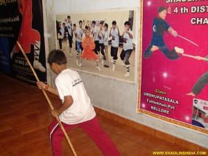 Shaolin Monk Gun Training Basics