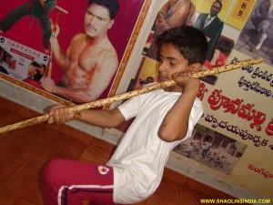Shaolin Monk Nan Gun Training