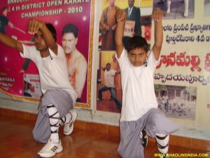 Shaolin Monk Kung-fu FistTraining