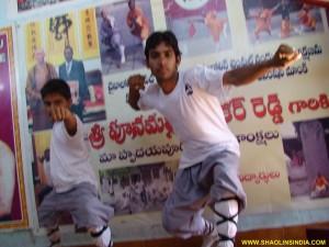 Shaolin Wushu Taolu Training