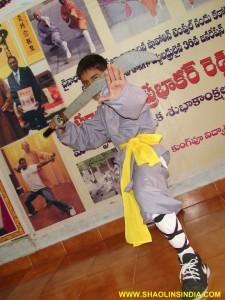 Shaolin Monk Wushu Taolu