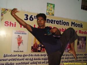 Shaolin Kung-fu Drunken Style Teach Shifu Prabhakar Reddy