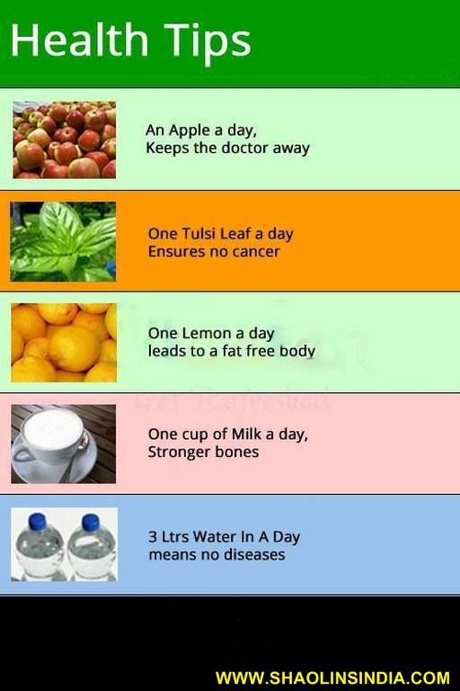 Good Health Tips
