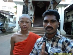 Shifu in Thailand Temple