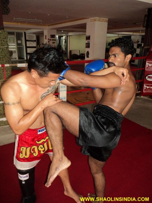 Thai Boxing Fighting