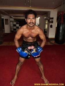 Shaolin Monk Shifu Prabhakar