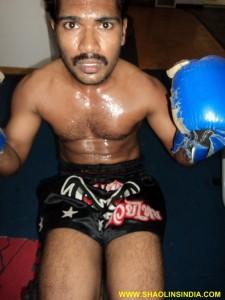 Hard Muay Thai Training