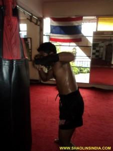 Thai Boxing Training