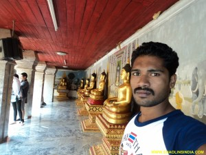 Martial arts Master in Thailand Temple