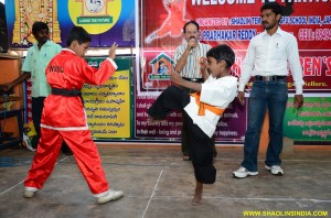 Karate Dojo Monk Shifu Prabhakar Reddy