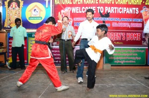 Chinese Wushu Monk Trainer Shifu Prabhakar Reddy Teach India