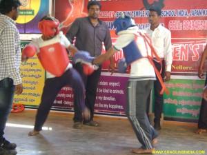 Kung-fu Sanda India