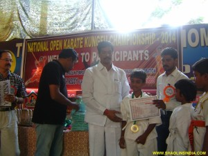 Nellore Karate Boy India