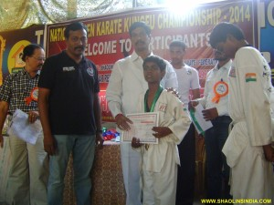 National Bhihar Karate Winner