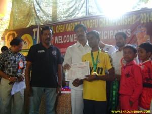 Orissa Karate Student