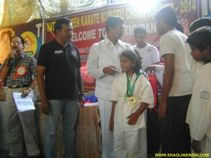Andhra Karate Girl