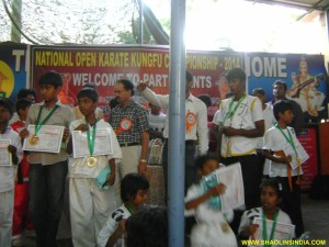 National Kung-fu Champions Nellore