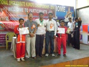 National Kung-fu Champions India
