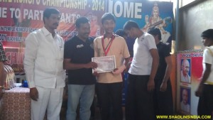 National Kick Boxing Champion