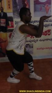 Snake Kung-fu Training