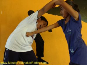 Indian Kung-fu Girls Martial arts
