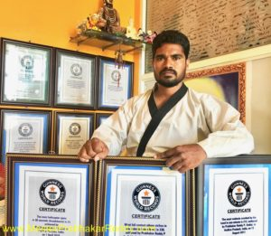 Master Prabhakar Reddy 10 Guinness World Records