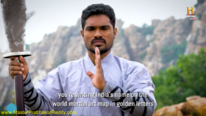 Indian Best Shaolin Kung-fu Master Prabhakar Reddy