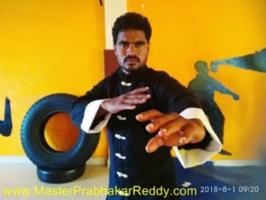 Kung-fu Master Prabhakar Reddy Wing Chun School Indian Bruce Lee