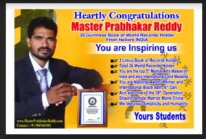 Shaolin Master Prabhkar Reddy Kung-fu