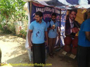 Martial arts Master Prabhakar Reddyy