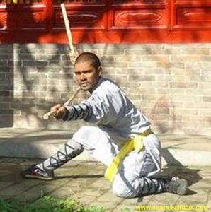 The Great Indian Kung-fu Warrior Monk