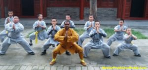 Kung-fu Warrior Monk Shifu Prabhakar Reddy