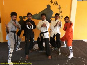Nelore Shaolin Kungfu Training Camp India