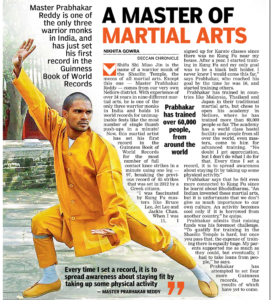 Indian Kung-fu Warrior Master Prabhakar Reddy Wushu Guan Camp
