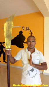 Indian Kung-fu Weapons Master Prabhakar Reddy