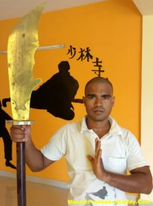 Shaolin Kung-fu Training Warrior Monk Shifu Prabhakar Reddy