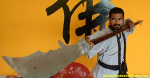 The Best Indian Kung-fu Warrior Monk Shifu Prabhakar Reddy