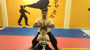 Martial arts Master Prahakar Reddy India