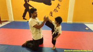 Martial arts Master Prabhakar Reddy Indian Kung-fu