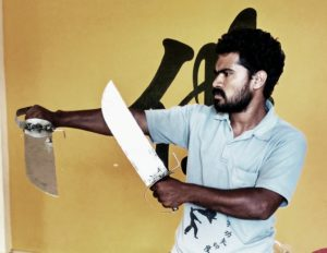 Indian Wing Chun Kung-fu Master Prabhakar Reddy