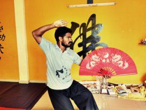 Kung-fu School Master Prabhakar Reddy