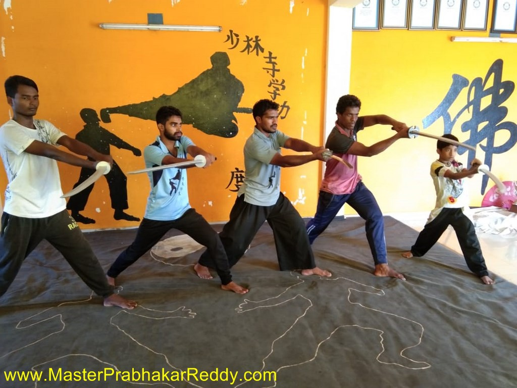 Nellore : Shaolin Kung-fu in Indian Shaolin Temple Warrior