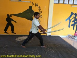 Ninja Swords Training Indian Kung-fu