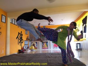 The Great Indian Kung-fu Training Camp