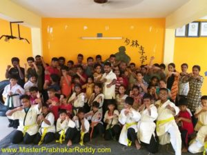 Kung-fu Training Warrior Monk Shifu Prabhakar REDDY
